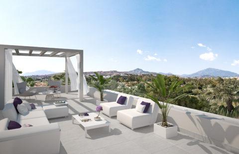 Cataleya: zeer ruim nieuwbouw golf penthouse (New Golden Mile)