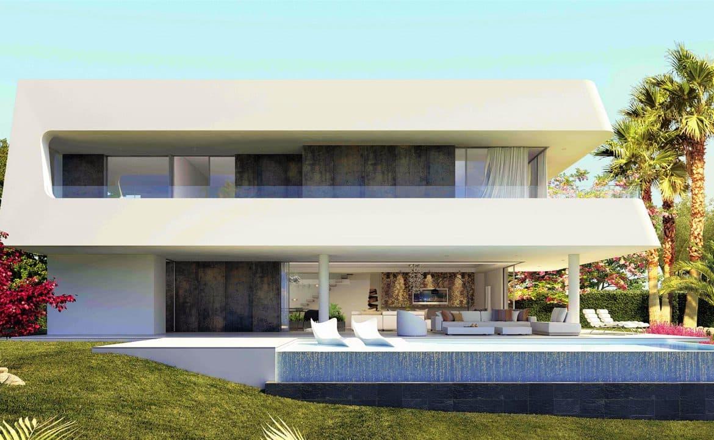 villas fusion new golden mile gevel 2