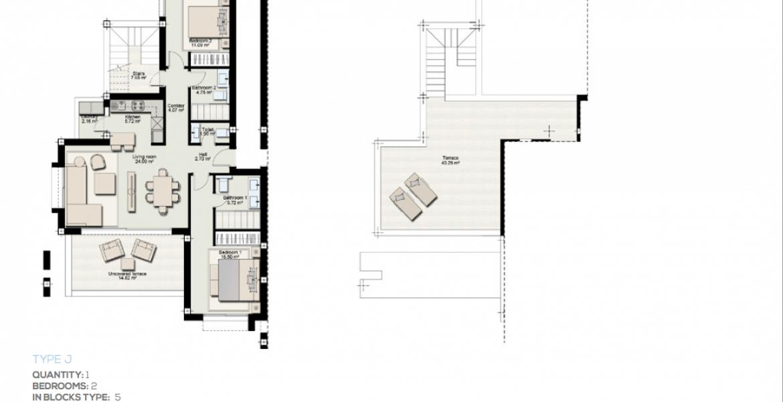 boladilla suites new golden mile west marbella nieuwbouw apartement plan j