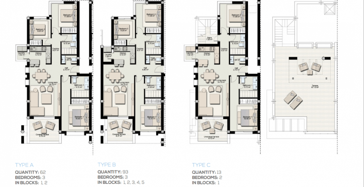 boladilla suites new golden mile west marbella nieuwbouw appartement plan a
