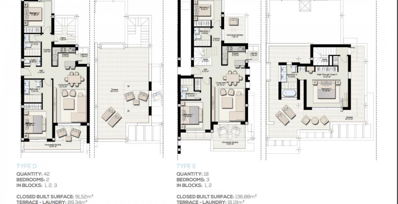 boladilla suites new golden mile west marbella nieuwbouw apartement plan d
