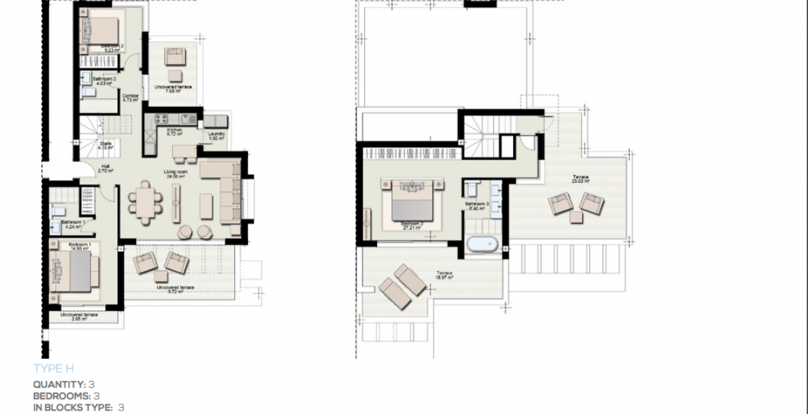 boladilla suites new golden mile west marbella nieuwbouw apartement plan h