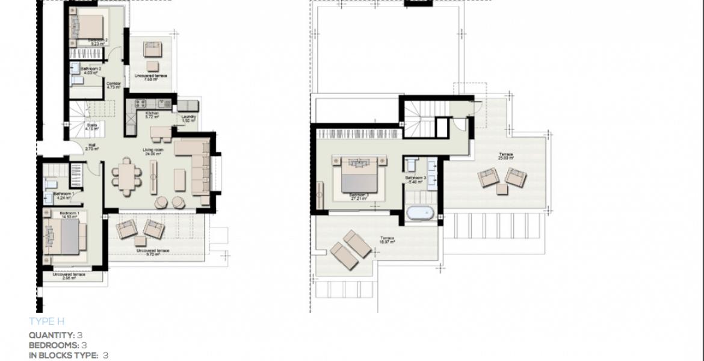 boladilla suites new golden mile west marbella nieuwbouw apartement plan h