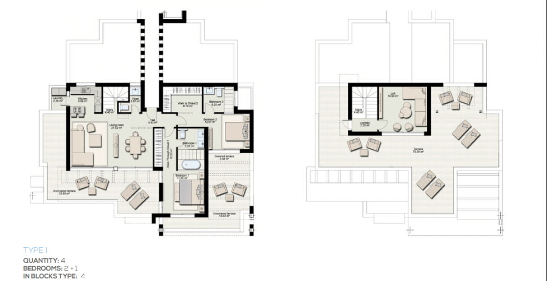 boladilla suites new golden mile west marbella nieuwbouw apartement plan i