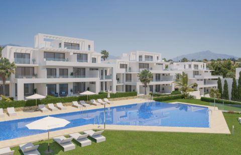 Cortijo del Golf: appartementen met verhuurdienst (New Golden Mile)