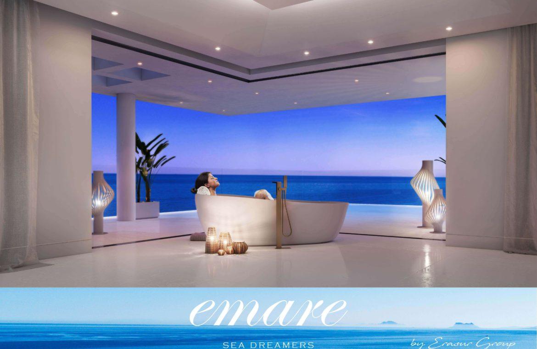 emare new golden mile eerstelijns zee penthouse badkamer