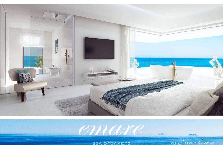 emare new golden mile eerstelijns zee slaapkamer penthouse