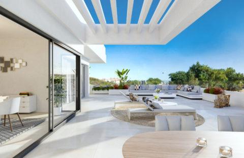 South Bay: nieuwbouw penthouses met zeezicht (Estepona)