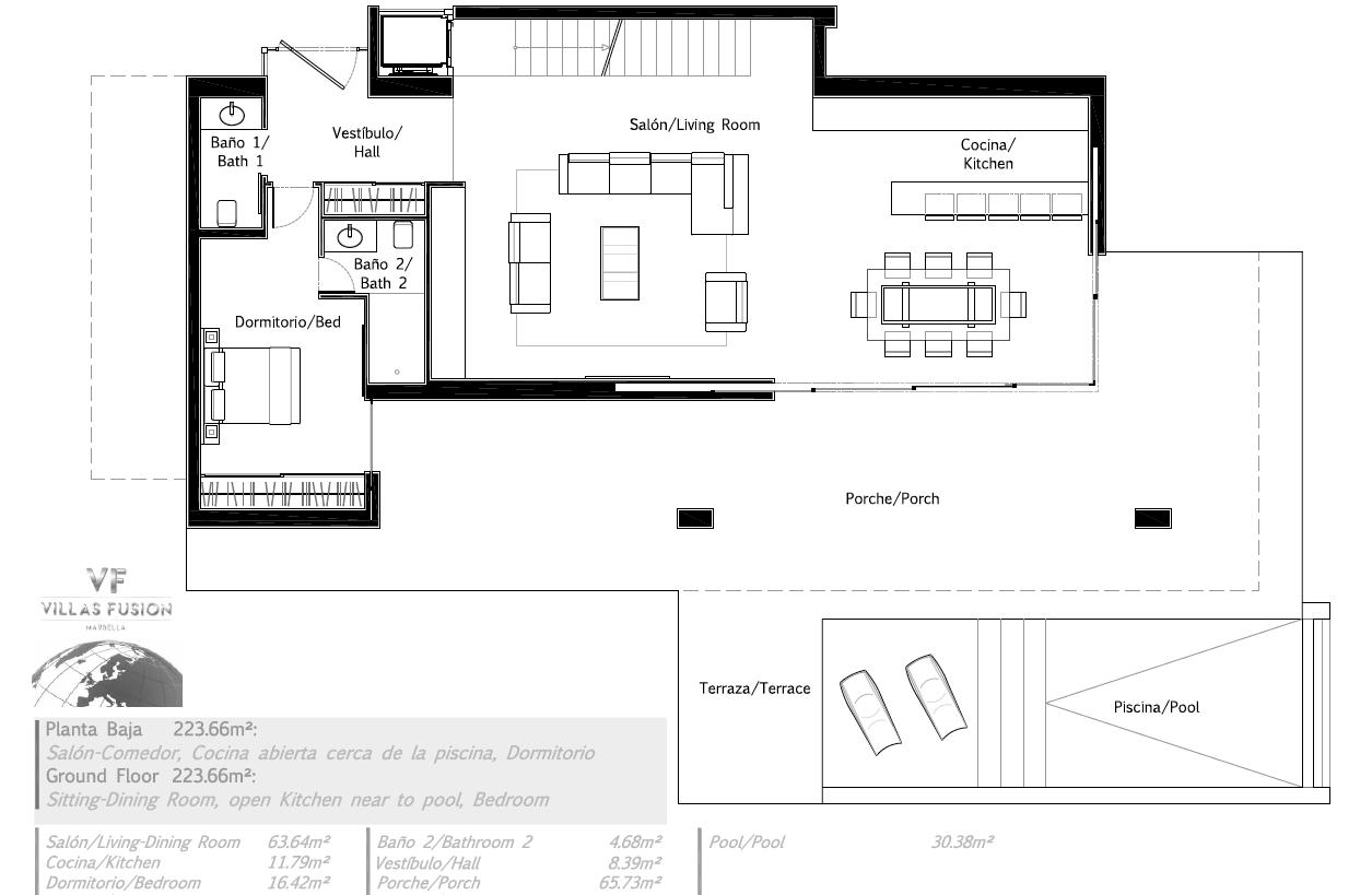 villas fusion diana park estepona new golden mile gelijkvloers6