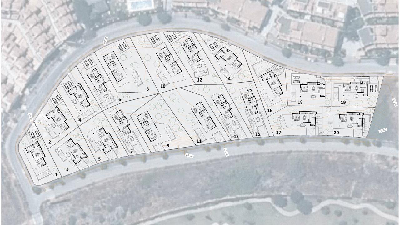 villas fusion diana park estepona new golden mile inplantatie