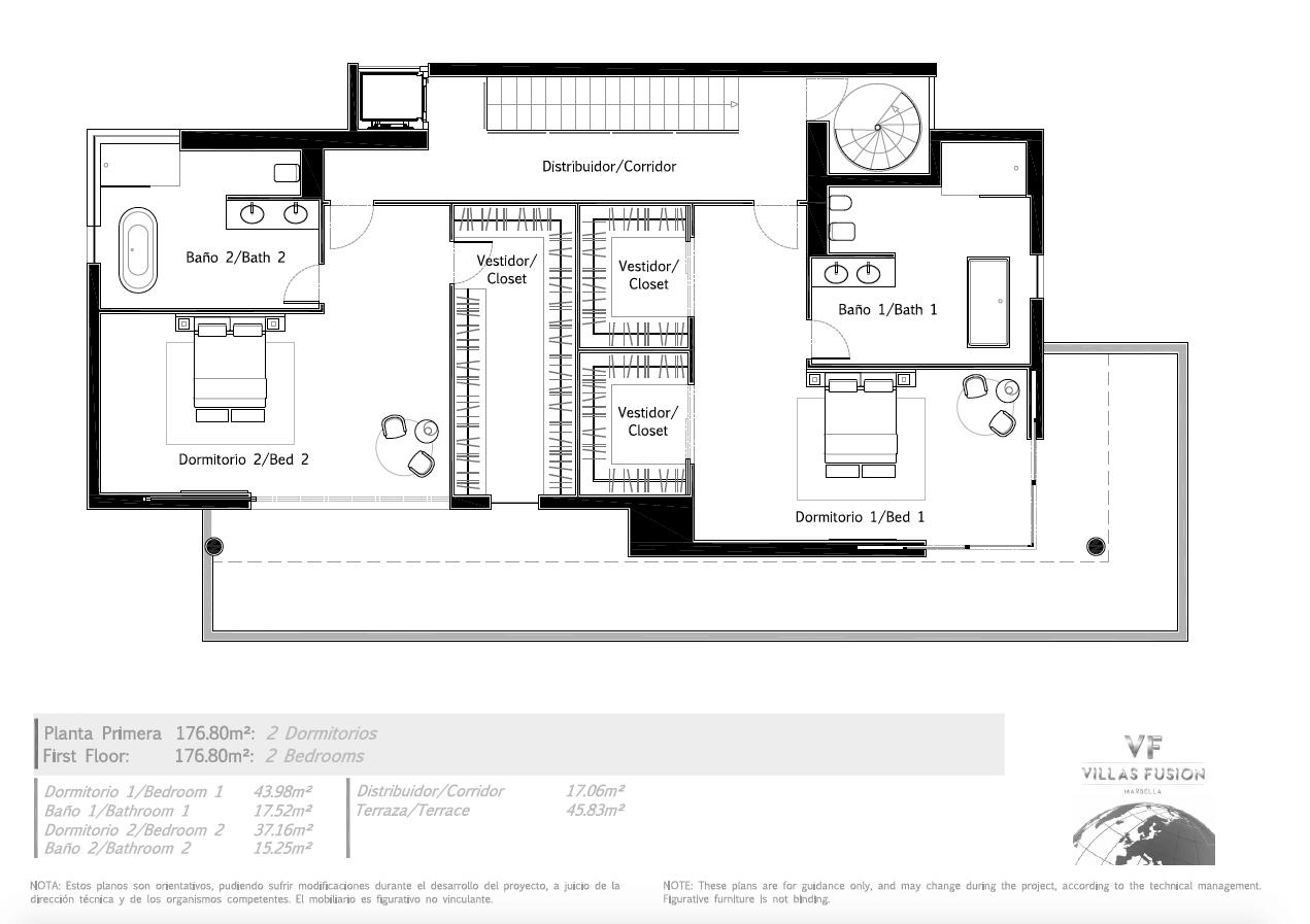 villas fusion diana park estepona new golden mile verdieping5