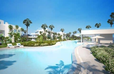 Cataleya: zeer ruim nieuwbouw golf appartement (New Golden Mile)