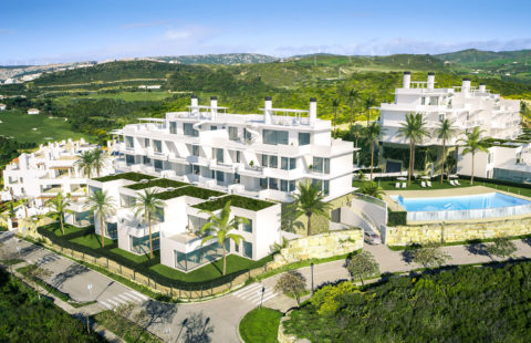 Las Terrazas de Cortesin Seaviews: 5* golf resort project (Finca Cortesin)