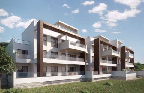Alborada: appartementen gelegen tussen de golfbanen (La Quinta)