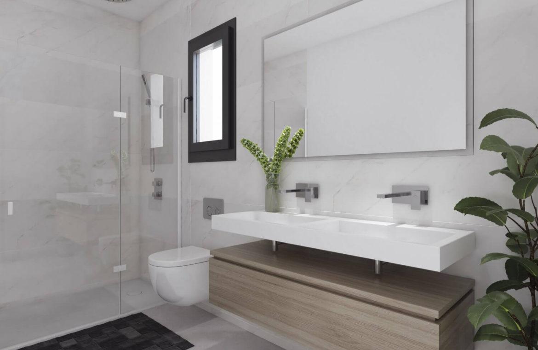 alborada homes benahavis nieuwbouw appartementen penthouses zeezicht kopen badkamer