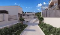 alborada homes benahavis nieuwbouw appartementen penthouses zeezicht kopen gemeenschappelijke zone