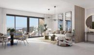 alborada homes benahavis nieuwbouw appartementen penthouses zeezicht kopen living