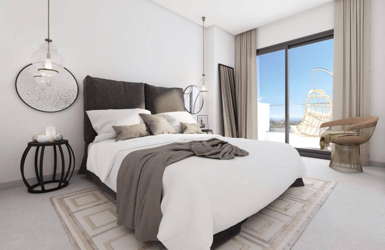 alborada homes benahavis nieuwbouw appartementen penthouses zeezicht kopen slaapkamers