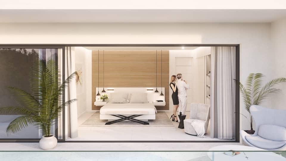 arboleda villa atalaya slaapkamer terras