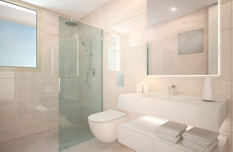aria la cala de mijas eerstelijns zee appartement badkamer 1