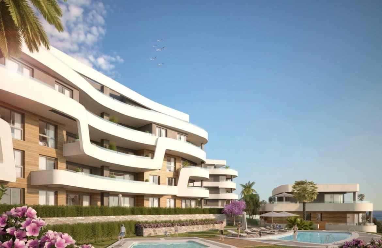 aria la cala de mijas eerstelijns zee appartement strand
