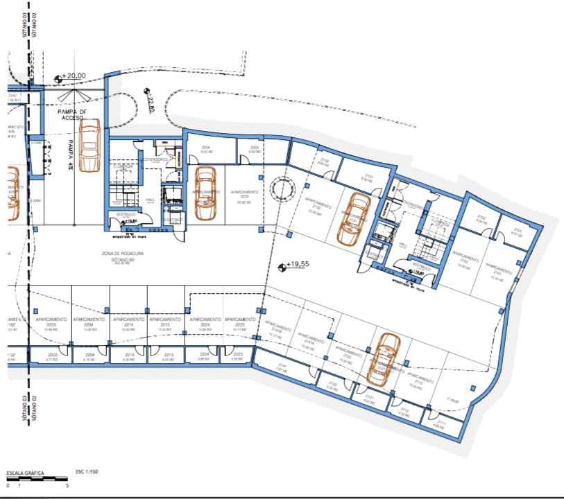 aria mijas grondplan garage