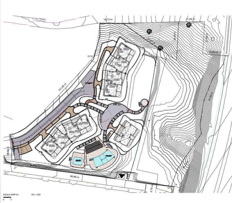 aria mijas grondplan overzicht