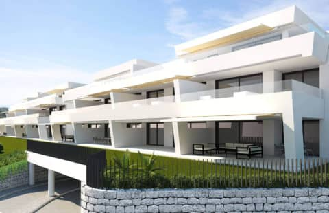 Azahar de Marbella: moderne luxe appartementen onder constructie (Nueva Andalucia)