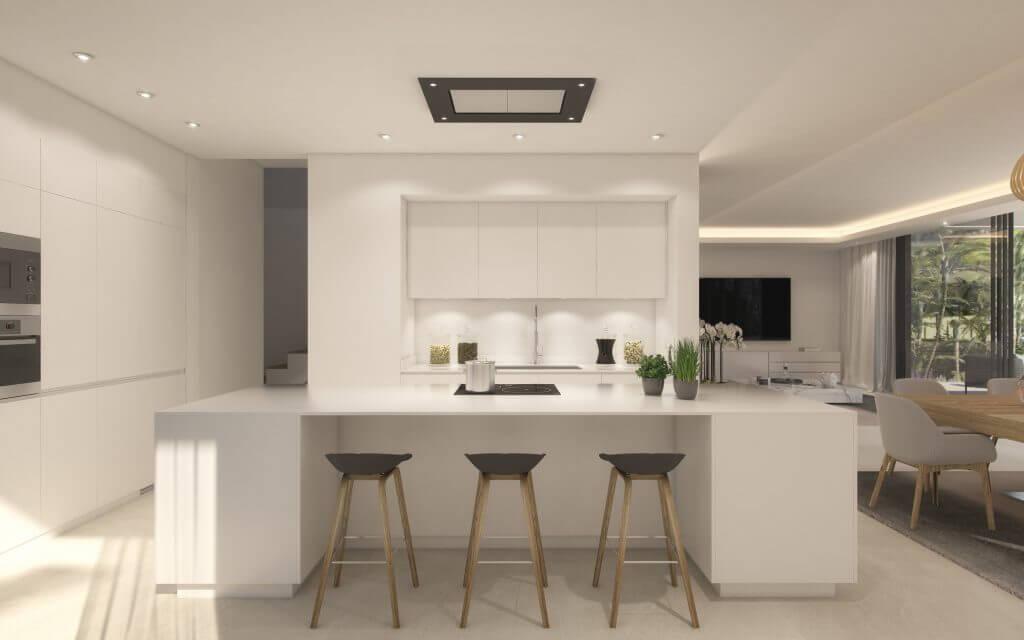 belfry moderne villa estepona new golden mile zeezicht wandelafstand strand marbella huis kopen keuken