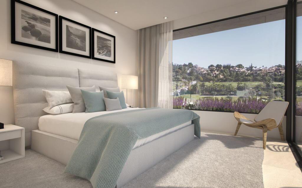 belfry moderne villa estepona new golden mile zeezicht wandelafstand strand marbella huis kopen slaapkamer