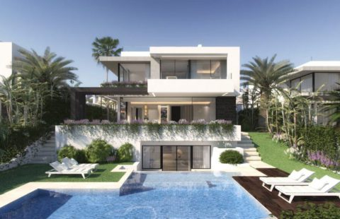 Belfry: moderne off-plan villa nummer 1 in kleinschalig project (Atalaya)