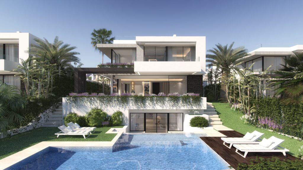 Belfry moderne off plan villa nummer 1 in kleinschalig for Te koop moderne woning