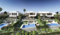 belfry moderne villa estepona new golden mile zeezicht wandelafstand strand marbella vooraanzicht