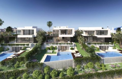 Belfry: moderne villa in kleinschalig nieuwbouw project (Atalaya)