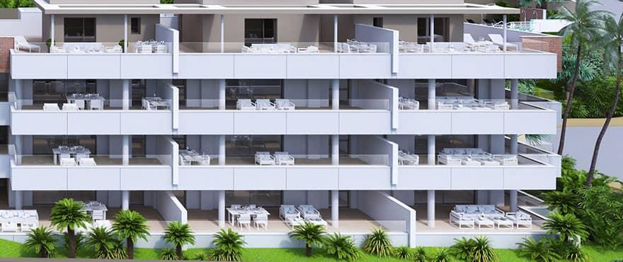 botanic taylor wimpey appartement penthouse los arqueros benahavis zeezicht golf blok