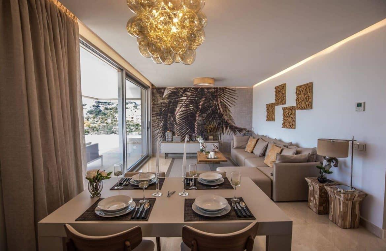 botanic taylor wimpey appartement penthouse los arqueros benahavis zeezicht golf living4
