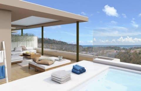 Botanic: moderne penthouses in La Reserva del Alcuzcuz (Benahavis)