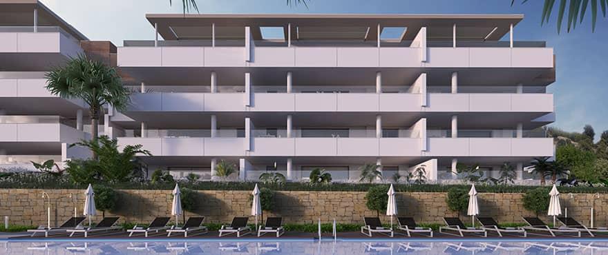 botanic taylor wimpey appartement penthouse los arqueros benahavis zeezicht golf zwembad