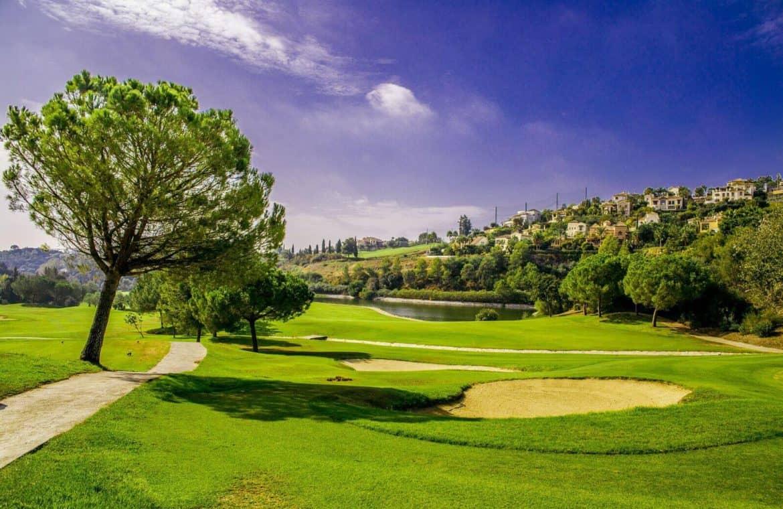 botanic taylor wimpey appartement penthouse los arqueros benahavis zeezicht golfbaan