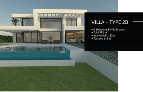 Buena Vista Hills: nieuwbouw villa's in 6 verschillende ontwerpen (Mijas)