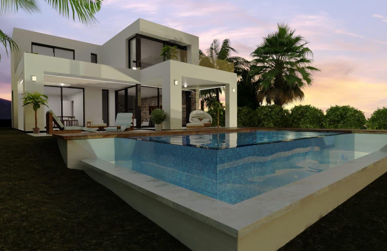 buena vista hills villas te koop B zwembad