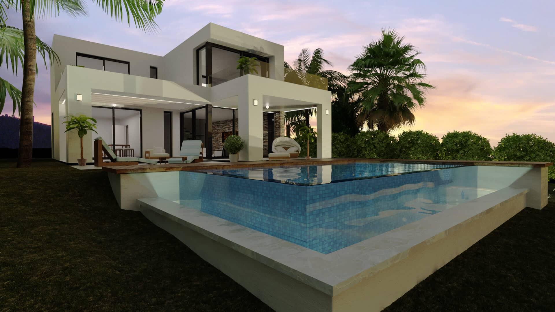 Buena vista hills nieuwbouw villa s in verschillende ontwerpen