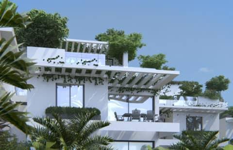 Casa Banderas: goed gelegen appartementen met zeezichten (Mijas)