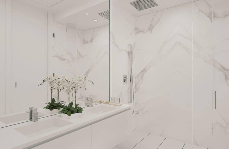 darya estepona eerstelijns zee appartement badkamer