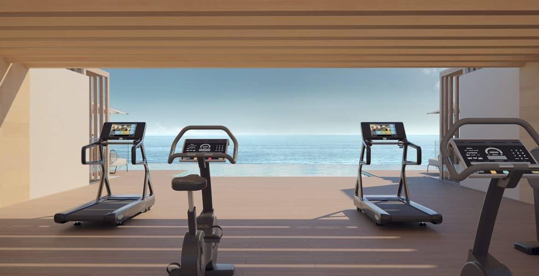 darya estepona eerstelijns zee appartement gym