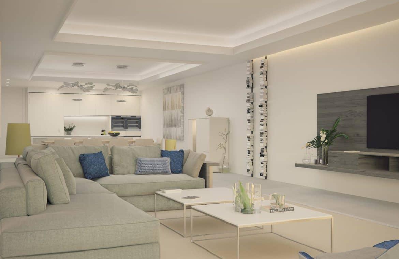 darya estepona eerstelijns zee appartement salon