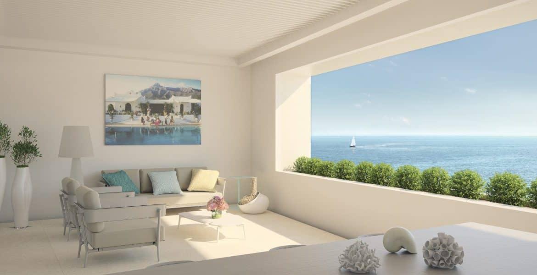 darya estepona eerstelijns zee appartement terras zeezicht