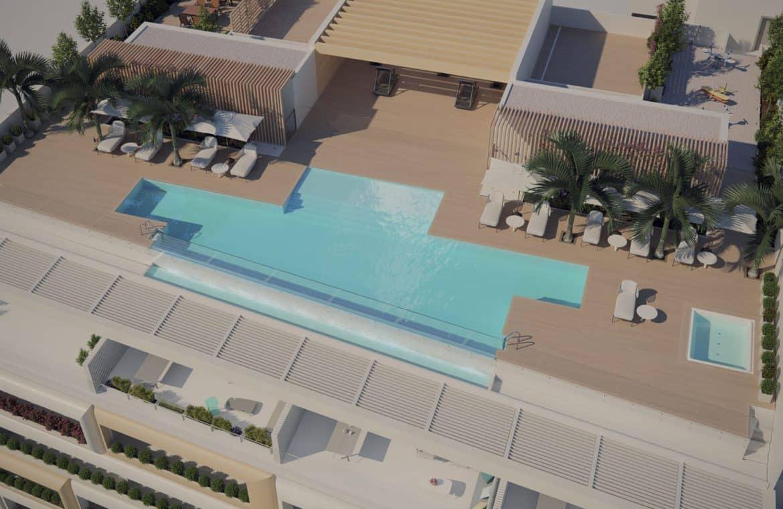 darya estepona eerstelijns zee appartement zwembad