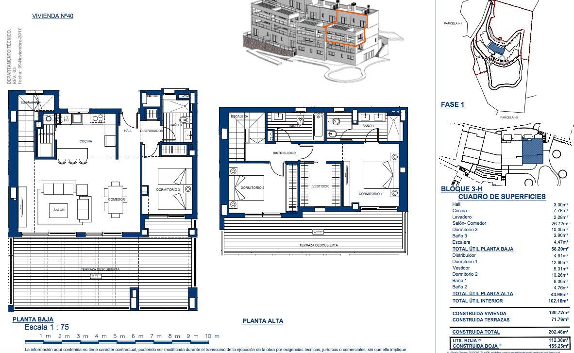 elements altos los monteros grondplan penthouse te koop slaapkamers 3