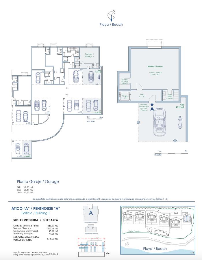 emare penthouse garage